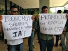 Carcereiros protestam por isonomia e melhores condições de trabalho no AC