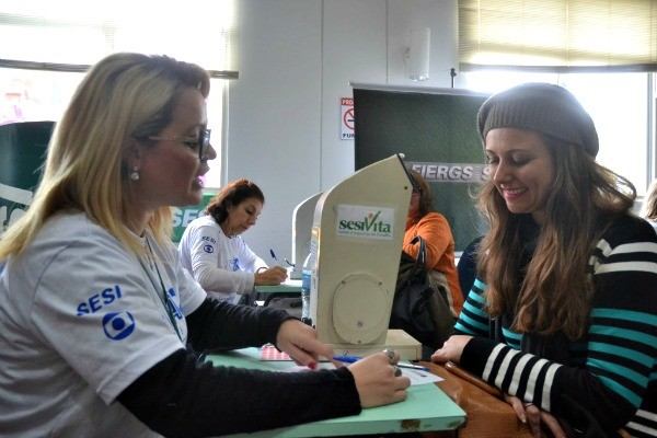 Ação Global em Panambi (Foto: Divulgação/RBS TV)