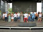 Artistas realizam último ensaio para Réveillon na Ponta Negra, em Manaus