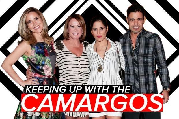 Família Camargo, os Kardashian brasileiros (Foto: Arte: Jessica Monstans/EGO)