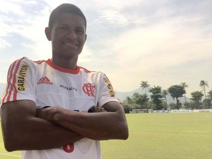 Márcio Araújo, Flamengo, Ninho do Urubu (Foto: Cahê Mota/GloboEsporte.com)