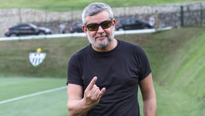 Paulo Xisto na Cidade do Galo (Foto: Bruno Cantini/Flickr do Atlético-MG)