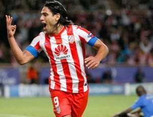 Falcao García Atlético de Madri Chelsea (Foto: AP)
