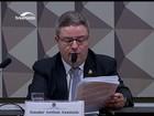 Anastasia sugere que comissão barre áudio de Machado na defesa de Dilma