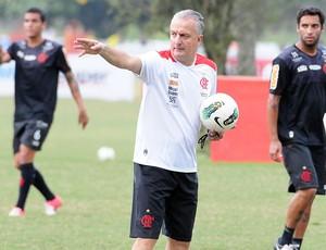 Dorival Júnior, treino do flamengo (Foto: Alexandre Vidal / Fla Imagem)