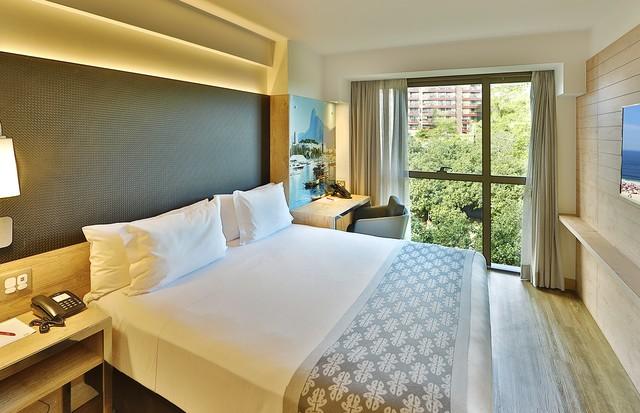 Quarto luxo casal do hotel Arena Ipanema (Foto: Divulgação)