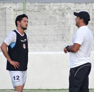 Arthur Santa Cruz Marcelo Martelotte (Foto: Daniel Gomes)
