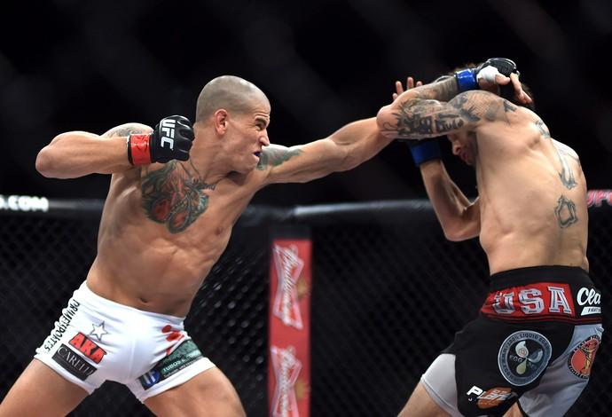 UFC Rio 6 - Leonardo Macarrão x Cain Carrizosa (Foto: André Durão)