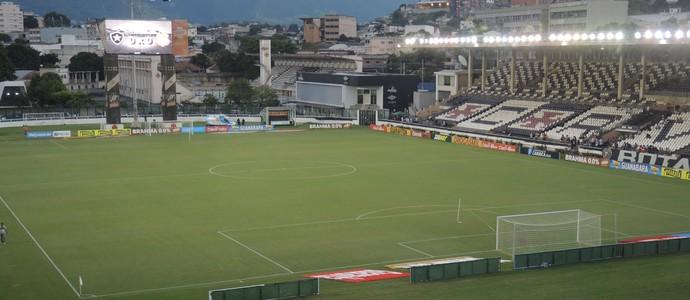 São Januário Botafogo x Bangu (Foto: Marcelo Baltar)