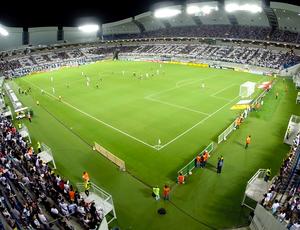 Imagem aérea da Arena das Dunas - ABC x Vasco (Foto: Gabriel Azevedo/Drone Midia)