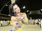'Vendi meu carro para brilhar no carnaval', diz musa da Águia de Ouro