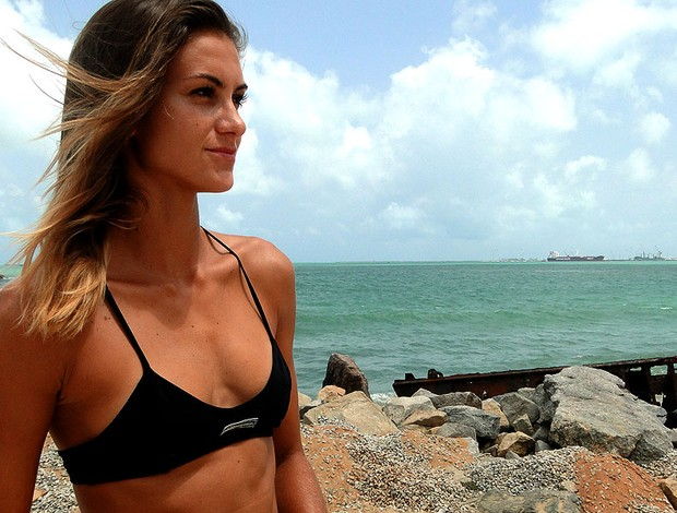 vôlei de praia Elize Maia (Foto: Helena Rebello)