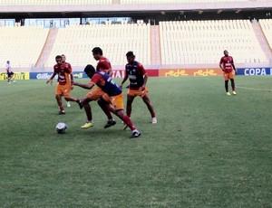 Fortaleza, treino, Arena Castelão, Clássico-Rei, Copa do Nordeste  (Foto: Nodge Nogueira/Divulgação )