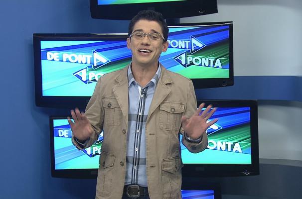 Marcos Paiva nos estúdios do De Ponta a Ponta (Foto: Reprodução / TV TEM)