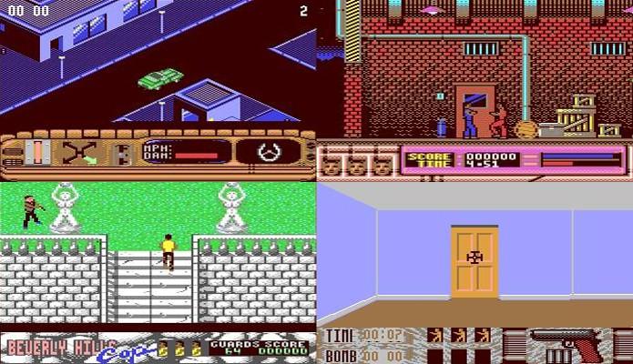 Beverly Hills Cop cai no erro de tentar muitos estilos de jogabilidade diferentes (Foto: Reprodução/GameFaqs)