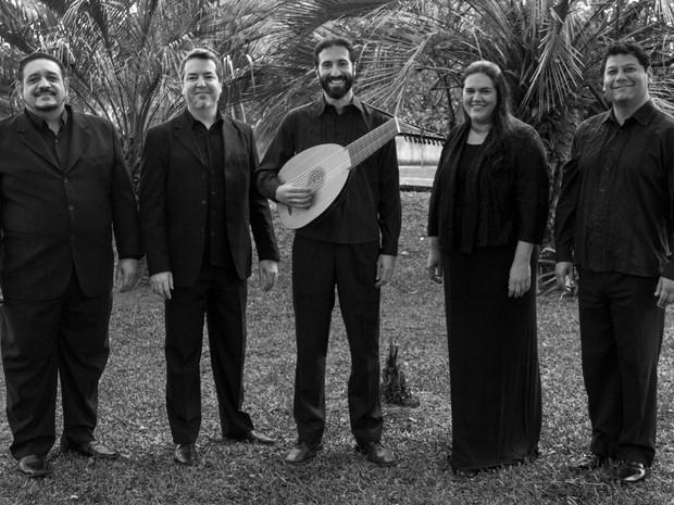 Grupo Cantus Firmus percorrerá seis cidades catarinenses com recital (Foto: Divulgação)