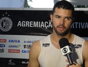 Gilson, goleiro do ASA (Foto: Leonardo Freire/GLOBOESPORTE.COM)