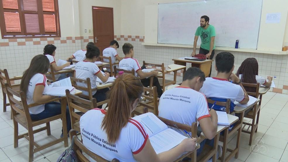 Governo anuncia investimento de R$ 16 milhões para climatização de escolas na zona rural e urbana do Acre (Foto: Reprodução/Rede Amazônica Acre)