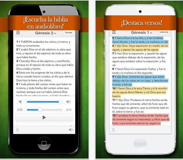 La Biblia Reina Valera con Audiolibro é vendida por US$ 9,9 na App Store  (Foto: Divulgação)