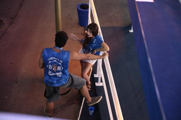 Dudu Azevedo e namorada (Foto: Divulgação/ Camarote BOA)