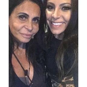 Andressa e Gretchen (Foto: Reprodução/Instagram)
