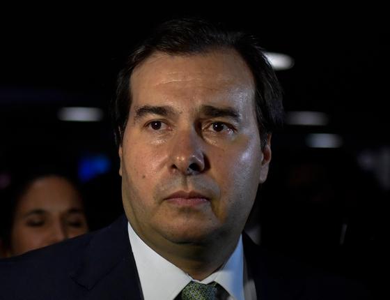 Rodrigo Maia Presidente da Câmara dos Deputados (Foto:  Mateus Bonomi / AGIF/AFP)