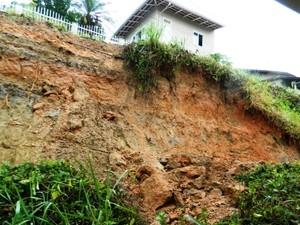 Defesa Civil faz levantamento dos estragos causados pela chuva (Foto: Defesa Civil Brusque/Divulgação)