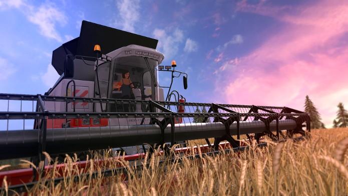 Trabalhe com maquinário pesado no campo (Foto: Divulgação/Giants Software)