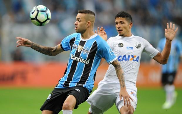 Grêmio x Santos na Arena