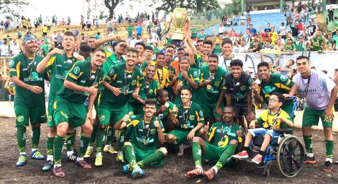 XV de Jaú, campeão paulista, sub-20, 2ª divisão (Foto: Tiago Pavini / EC XV de Jaú)