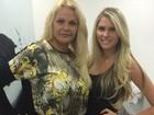 Bárbara Evans clareia o cabelo e posa com a mãe: 'Eu e minha rainha'