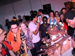 Coletivos realizam Sarau Erótico no evento Bailes Quentes de Carnaval em Piracicaba (Foto: MaVi Vasconcelos/Coletivo Piracema)