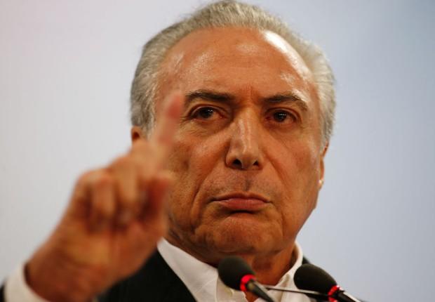 O presidente Michel Temer  (Foto: Igo Estrela/Getty Images)