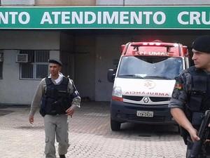 Brigada Militar diz que reforçou segurança na região da Vila Cr uzeiro (Foto: Brigada Militar/Divulgação)
