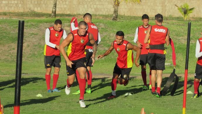 Luizão atacante Globo FC (Foto: Rhuan Carlos/Divulgação)