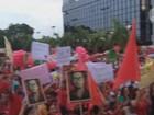 Protesto contra impeachment no Acre tem coro de 'não vai ter golpe'