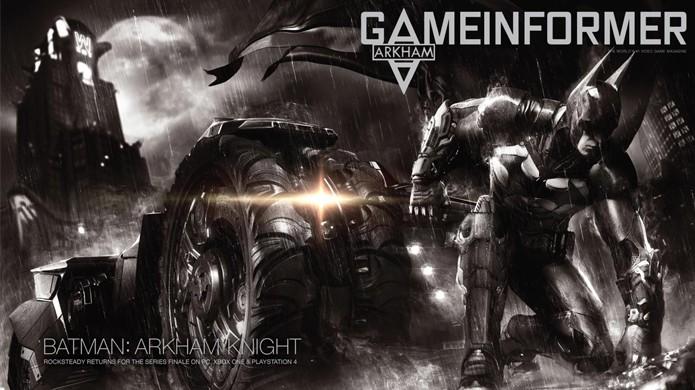 Batman: Arkham Knight trará a última aventura do Cavaleiro das Trevas (Foto: GameInformer)