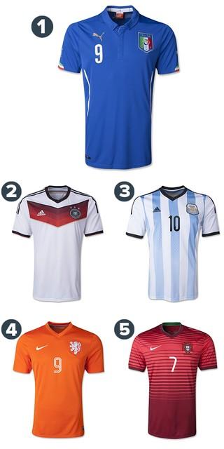 52c9d4840e66d EGO - Confira as camisas das seleções da Copa 2014 e vote na mais ...