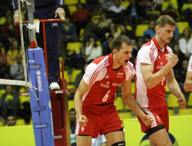 Kurek Polônia Liga Mundial vôlei (Foto: Alexandre Arruda/CBV)