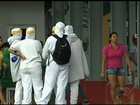 Funcionários de fábrica passam mal após vazamento de amônia, em Goiás