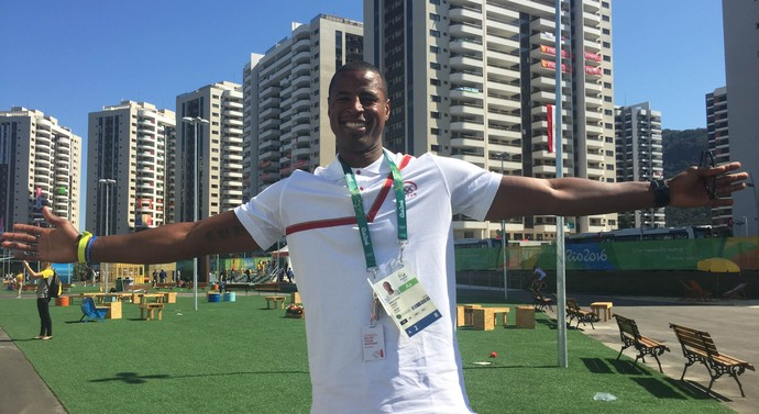 Rafael Capote, Catar, Vila dos Atletas, Olimpíada, Rio 2016 (Foto: Thierry Gozzer)