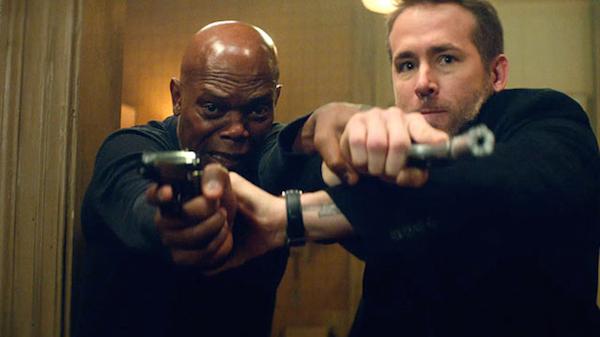 Samuel L. Jackson e Ryan Reynolds em Dupla Explosiva (Foto: Reprodução)