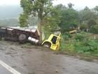 Motociclista morre em colisão contra caminhão em Marques de Souza, RS