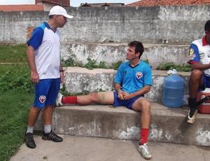 Locatelli sofre com lesões desde o primeiro turno do Campeonato Maranhense (Foto: Bruno Alves)
