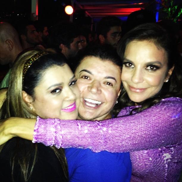 David Brazil, Ivete Sangalo e Preta Gil (Foto: Reprodução/Instagram)