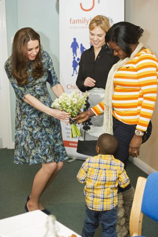 Kate Middleton em janeiro de 2015 (Foto: Getty Images)