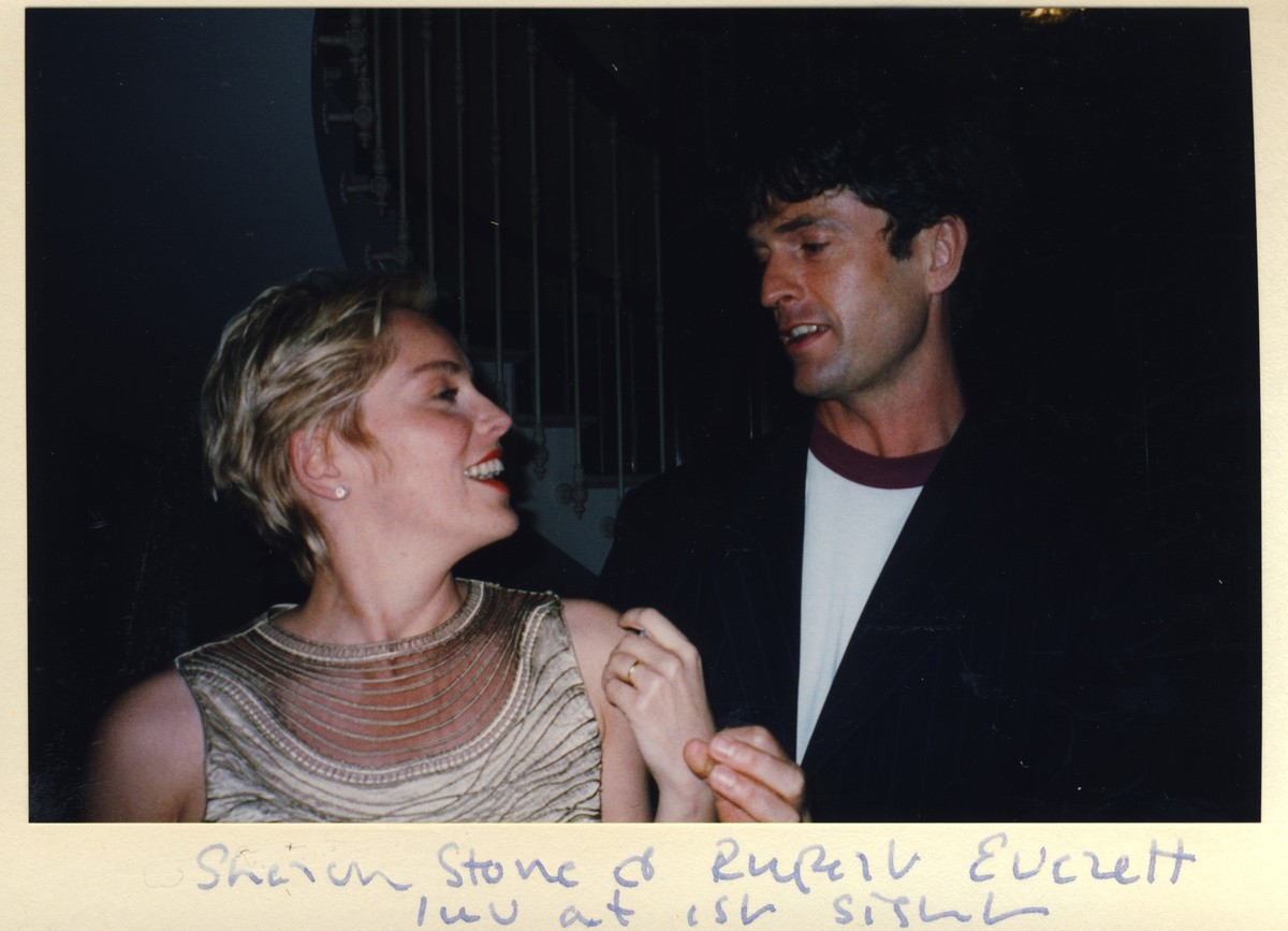 Sharon Stone e Rupert Everett. (Foto: Divulgação)