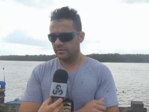 Delegado de Oiapoque César Vieira (Foto: Reprodução/TV Amapá)