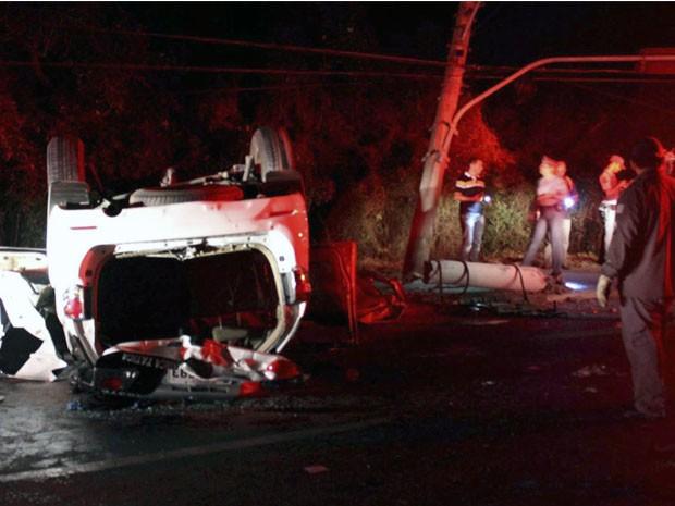PM morre após acidente durante perseguição policial em Caçapava, SP (Foto: Vanessa Rezende/ Arquivo Pessoal)