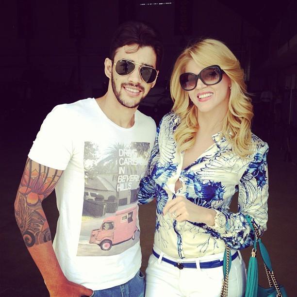 Val Marchiori e Gusttavo Lima (Foto: Instagram/ Reprodução)
